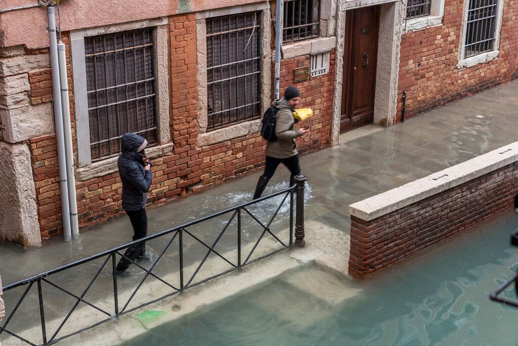 Venedig - acqua alta